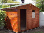 Garden shed 3mx2.4m with 22x102mm loglap weather board
