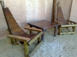 Congo chairs and table